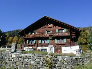 The Chalet l'Hermitage in Autumn