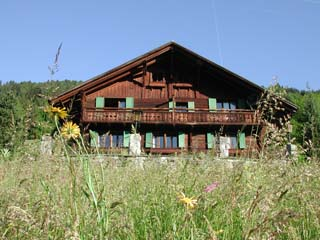 The Chalet l'Hermitage in Spring