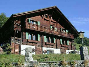 The Chalet l'Hermitage in Summer